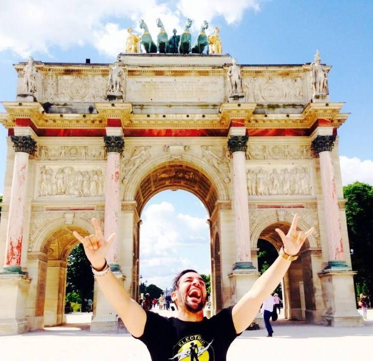 Luis in Paris